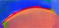untitled - red arc by elizabeth dacosta ahern