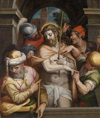 ecce homo by michiel coxie the elder