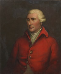 portrait of a gentleman by john russell