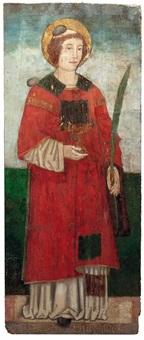 der hl. diakon und märtyrer stephanus by alvise vivarini