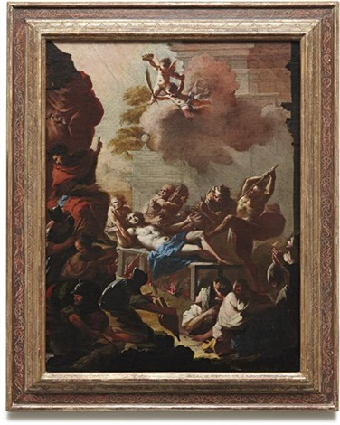 martyrdom of st lawrence by francesco conti