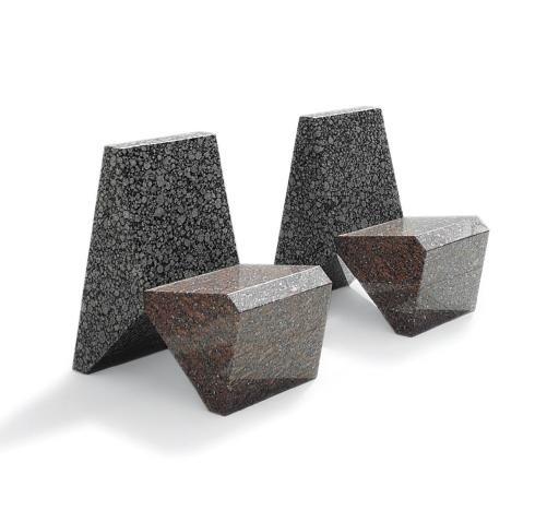 granite chair another pair by scott burton