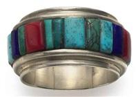 band ring by charles loloma