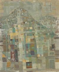 favela by candido portinari