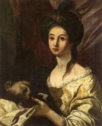 judith et holopherne by flaminio (dagli ancinelli) torri
