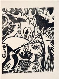 l'enchanteur pourrissant (bk by guillaume apollinaire w/32 works) by andré derain
