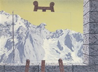 l'appel des cimes by rené magritte