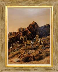 desert sheep by gary r. swanson