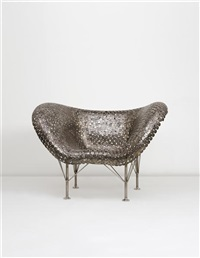 half dollar / butterfly chair by johnny swing