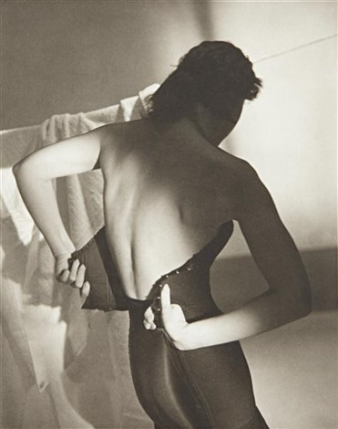 black corset by horst p horst
