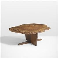 important minguren i coffee table by george nakashima