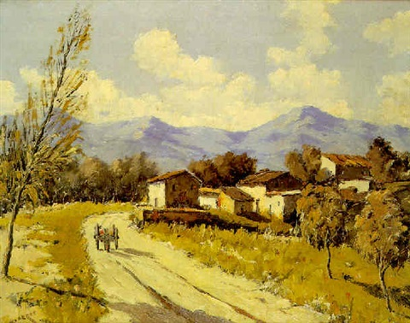 camino del pueblo by enrique saborit