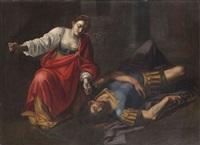 sisara et jaël by orazio gentileschi