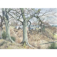 castle mill, rossie priory by james mcintosh patrick