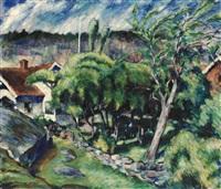 bohusländskt landskap by ragnar hallberg