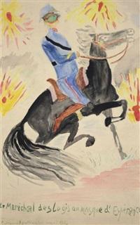 le maréchal des logis au masque d'espérance by guillaume apollinaire