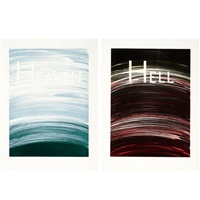 heaven and hell (2) by ed ruscha