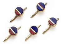 studs (set of 5) by charles loloma