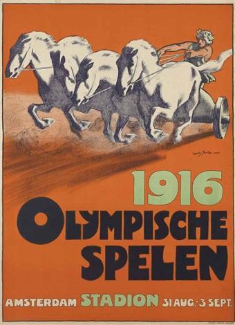1916 olympische spelen by willy sluijter