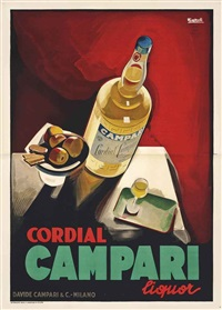 cordial campari by marcello nizzoli