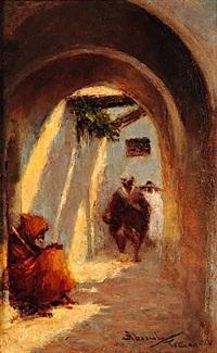 ruelle animée à tétuan (maroc) by felipe barantes abascal