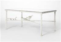 table au dragon à l'oiseau by diego giacometti