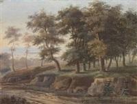 paysage by louis jaques mandé daguerre