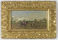 tilling the cotton fields by william aiken walker