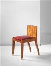 tivo' side chair, model no. 29ar/57nr by émile jacques ruhlmann