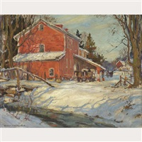 bruce's mill, 10 miles north of unionville by manly edward macdonald