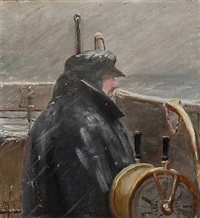 a captain by michael peter ancher