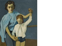 ballerina lesson by moses soyer