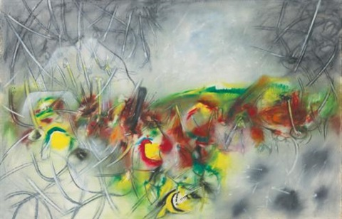 syllable of spring by roberto matta
