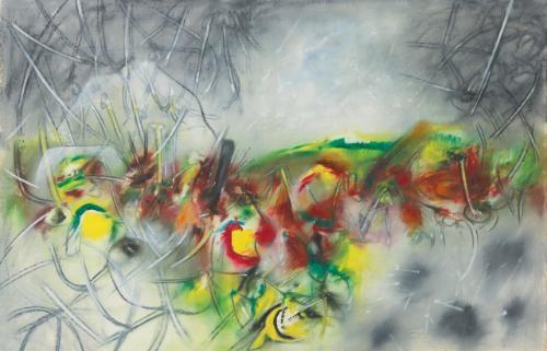 syllable of spring by roberto matta