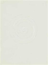 white spiral by richard tuttle