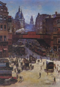 view of fleet street by chris snijders