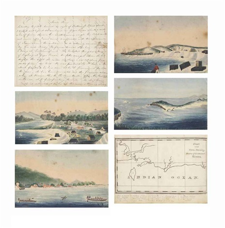 journal of a voyage (bk. w/37 works) by mary anne friend