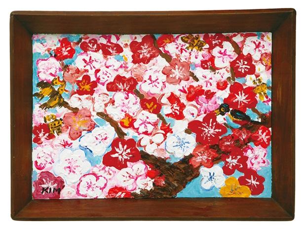 cherry blossoms by kim chong hak