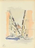 cartella di 16 disegni (portfolio w/ 16 works) by renzo piano