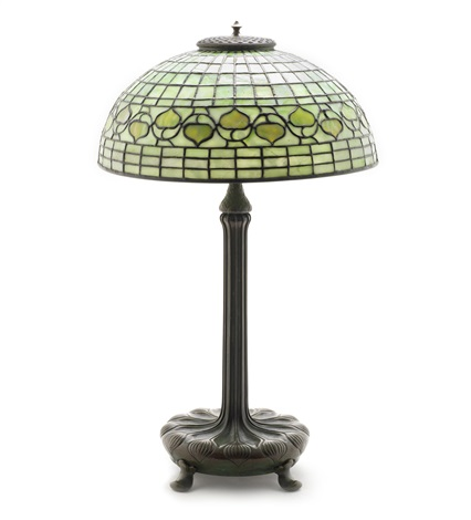 acorn table lamp by tiffany studios
