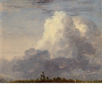 clouds by thomas cole