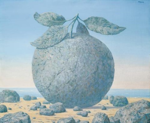 la grande table by rené magritte