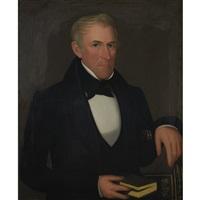 portrait of mr. doane of dover plains by ammi phillips