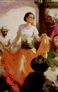 the danseuse by walter g. ratterman