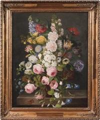 bouquet de fleurs by emilie allard