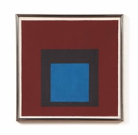 study for homage to the square: nocturne by josef albers
