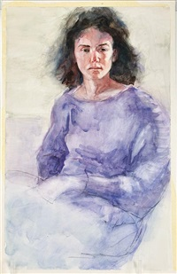 portrait of daughter, donna by virginia fouche bolton