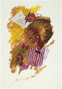 a letter from paris by robert h. colescott