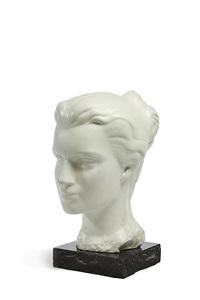 woman's head by matti haupt