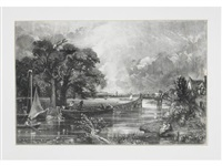 various subjects of landscape scenery, characteristic of english scenery (set of twenty-two) by john constable